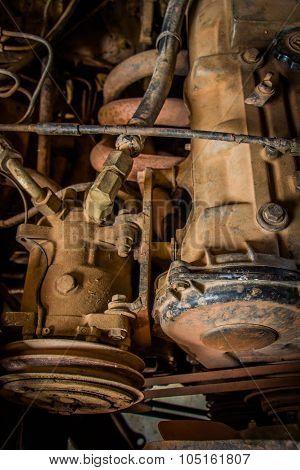 Rusty Old Engine