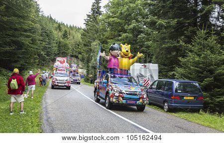 Haribo Caravan - Le Tour De France 2014
