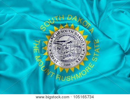 State Flag Of South Dakota