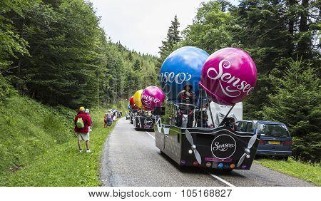 Senseo Caravan - Tour De France 2014