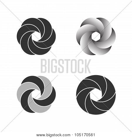 Logo Or Emblem Template. Vector Icon