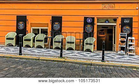 Cafe in the Mala Strana
