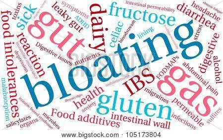 Bloating Word Cloud