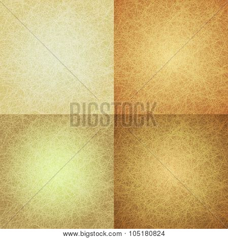 Abstract Yellow Scratched Background