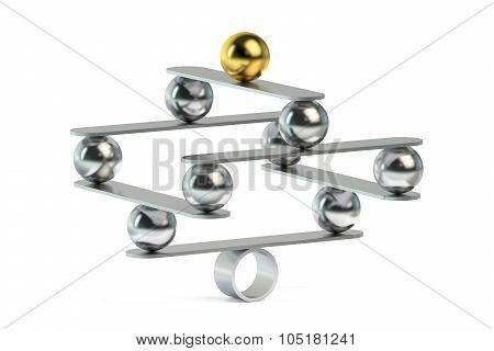 Balance Concept With Balls