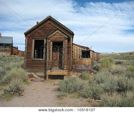 Abandonned building, Bodie Ghost Town, USA