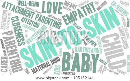 Skin-to-skin Word Cloud