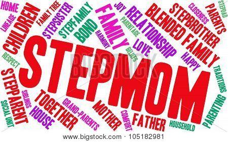 Stepmom Word Cloud