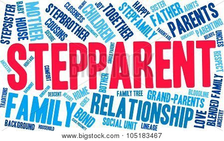 Stepparent Word Cloud