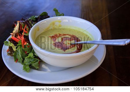 Mexican Corn Soup-puree