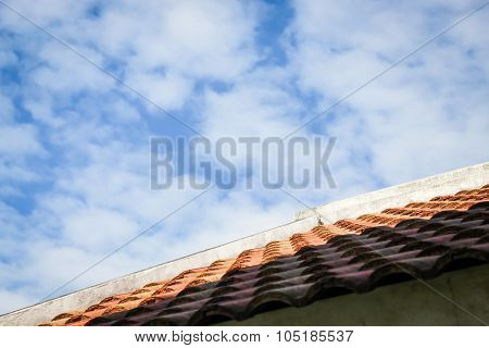 The Beauty Background Of Blue Sky With Cloud
