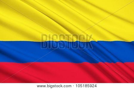 Flag Of Bajo Nuevo Bank, Colombia