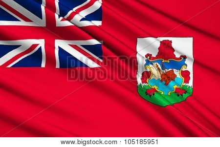 Flag Of Bermuda, United Kingdom - Hamilton