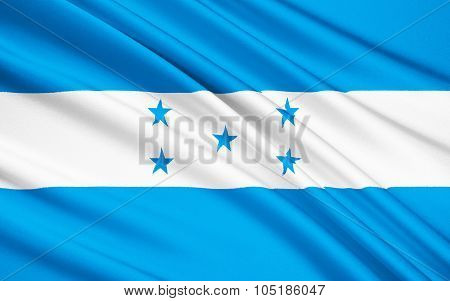 Flag Of Honduras, Tegucigalpa