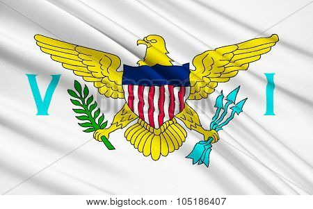 Flag Of The Us Virgin Islands