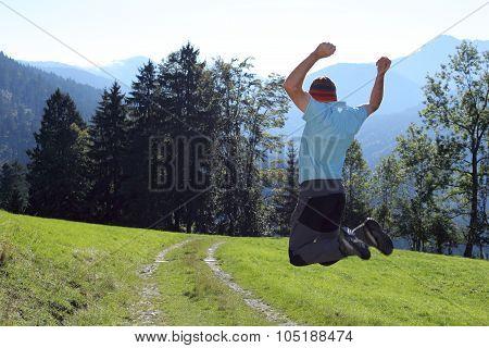 Jumping Near The Way