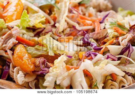 Chicken Mandarin Salad