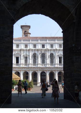 Italian City Old Architecture