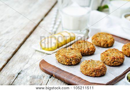 Oats Pumpkin And Sunflower Seeds Banana Cookies. Gluten-free