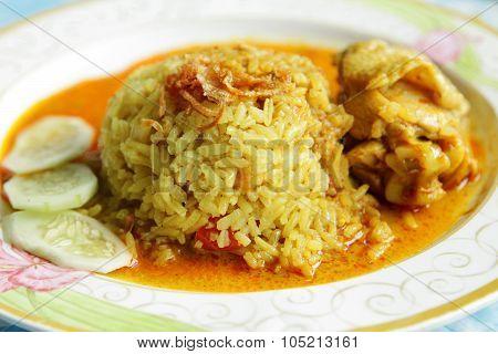 Thai Rice And Chicken Biryani