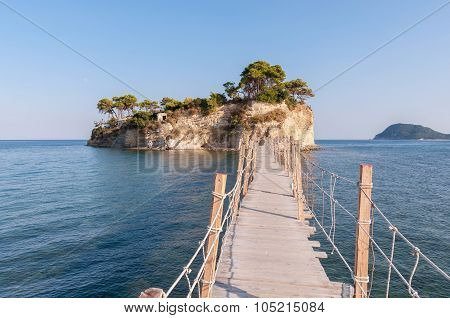 Bridge To Cameo Island, Zakynthos, Greece