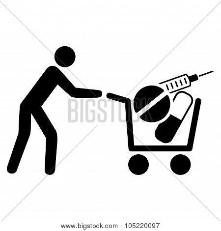 Medical Shopping Icon