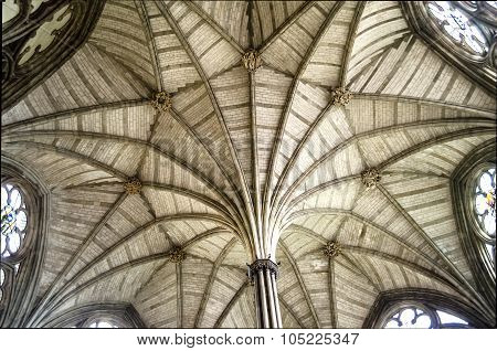 Interior Of The Westminster Abbey, London