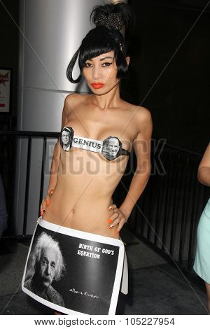 LOS ANGELES - OCT 15:  Bai Ling at the 2015 Geekie Awards at the Club Nokia on October 15, 2015 in Los Angeles, CA
