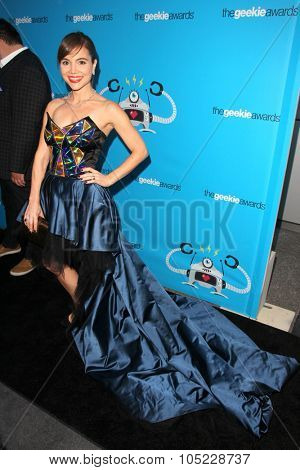 LOS ANGELES - OCT 15:  Christina Wren at the 2015 Geekie Awards at the Club Nokia on October 15, 2015 in Los Angeles, CA