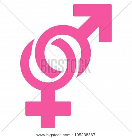 Sexual Symbols Flat Icon