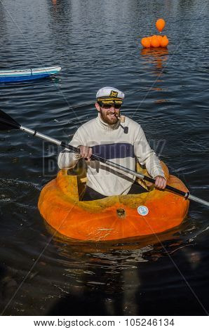 5Th Annual Ginormous Pumpkin Regatta 2015