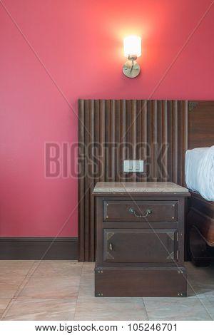 Headboard And Cabinet