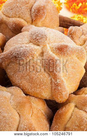 Day Of The Dead Bread (pan De Muerto)