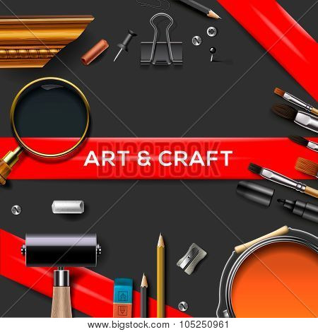 Art and crafts template