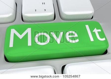 Move It Button Concept