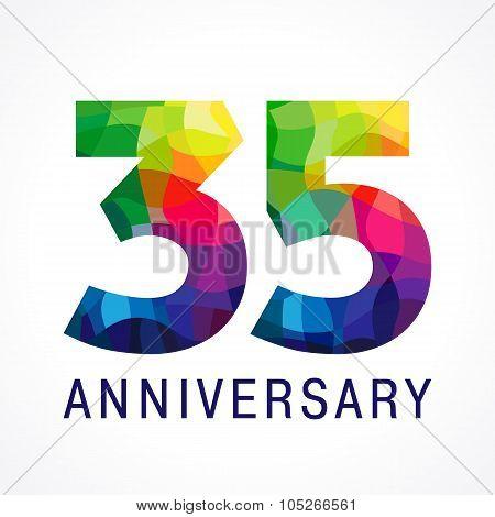 35 anniversary color logo.