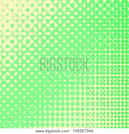 Colored Halftone Patterns. Set of  Halftones