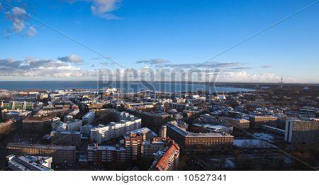 View Over Modern Tallinn