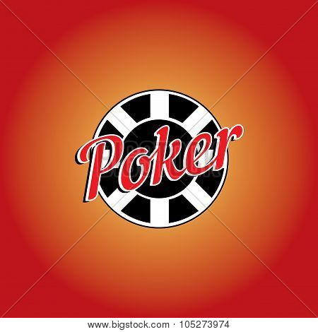 Poker Casino Vector Logo Template
