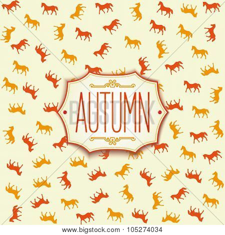Label design for autumn season 2014