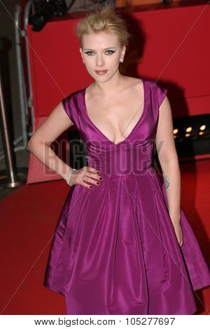 BERLIN - FEBRUARY 15: Scarlett Johansson attends The Other Boleyn Girl premiere during day nine of the 58th Berlinale Film Festival at the Berlinale Palast on February 15, 2008 in Berlin, Germany