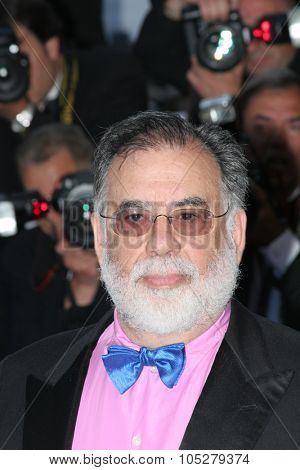 CANNES, FRANCE - MAY 24: US director Francis Ford Coppola attends the 'Marie Antoinette' premiere at the Palais des Festivals during the 59th  Cannes Film Festival May 24, 2006 in Cannes, France