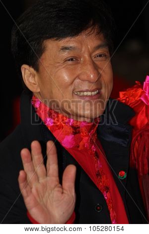 BERLIN - FEBRUARY 17: Actor Jackie Chan attends the 'Da Bing Xiao Jiang' - Premiere during  of the 60th Berlin  Film Festival at the Friedrichstadtpalast on February 17, 2010 in Berlin, Germany.