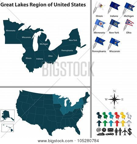 Great Lakes Region Of United States