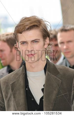 CANNES, FRANCE - MAY 15: Hayden Christensen attends a photocall promoting the film 'Star Wars' at the Palais during the 58th International Cannes Film Festival on May 15, 2005 in Cannes, France