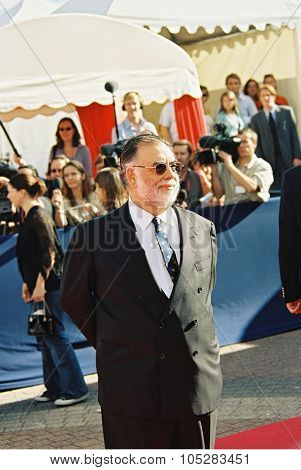 DEAUVILLE, FRANCE - SEPTEMBER 11: Director Francis Ford Coppola attends the 'THX 1138:  Director's Cut' screening at the 30 Deauville Film Festival on September11, 2004 in Deauville, France.