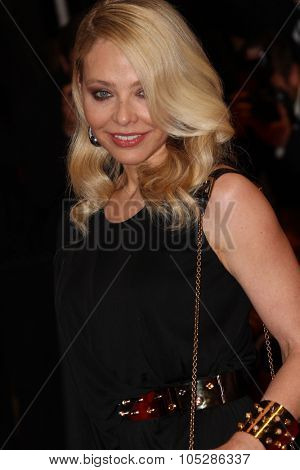 CANNES, FRANCE - MAY 20: Italian actress Ornella Muti attends the 'Our Life' Premiere at the Palais des Festivals during the 63rd  Cannes Film Festival on May 20, 2010 in Cannes, France