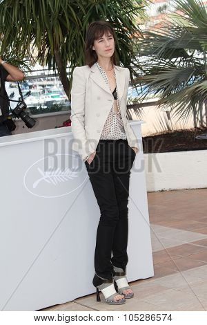 CANNES, FRANCE - MAY 23: Actress/musician Charlotte Gainsbourg attends 'The Tree' Photo Call held at the Palais des Festivals during the 63rd  Cannes Film Festival on May 23, 2010 in Cannes, France
