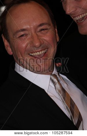 BERLIN, GERMANY - FEBRUARY 11: Actor Kevin Spacey attends the 'Margin Call' Premiere during day two of the 61st Berlin  Film Festival at Berlinale Palace on February 11, 2011 in Berlin, Germany.