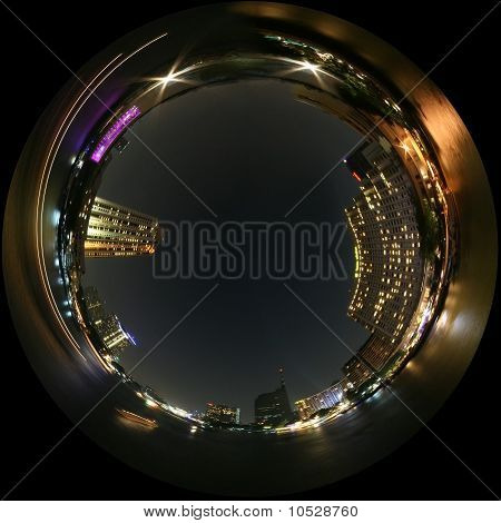 Night view city